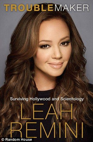 In Remini's new book, pictured left, she details her years in Scientology and explains why she left the religion