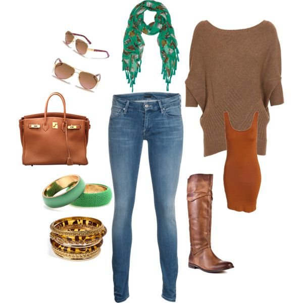 Comfy & Sophisticated, created by cpueschel01 on PolyvoreTans Accessories, Luggage Tans, Future Wardrobes, Brown Shirts, Fashion Trends, Fashion Styl, I D Wear, Fashion Sense, Dreams Closets
