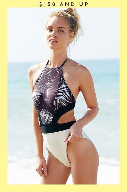 Summer's Not Over Yet — 21 Sweet Swimsuits On Sale Now #refinery29  http://www.refinery29.com/2015/08/91653/swimsuits-on-sale#slide-15  A suit that lets you blend into your surroundings....