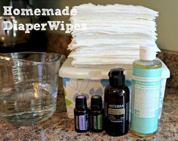 How-To Make Homemade Diaper Wipes