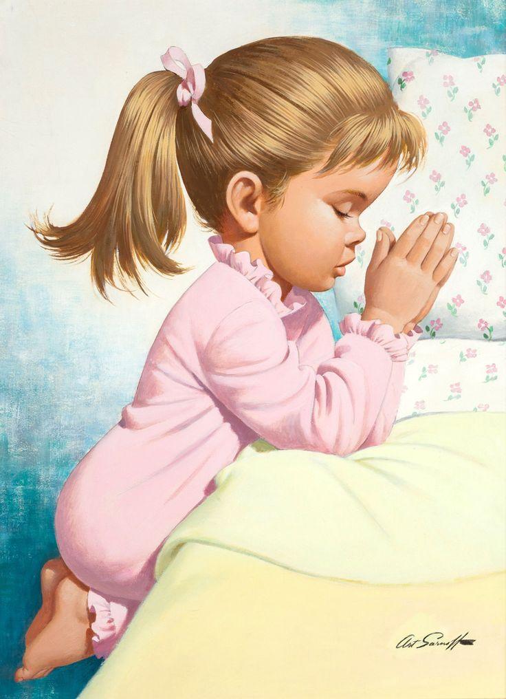Детская молитва...иллюстрации | Arthur Saron Sarnoff . Обсуждение на LiveInternet - Российский Сервис Онлайн-Дневников