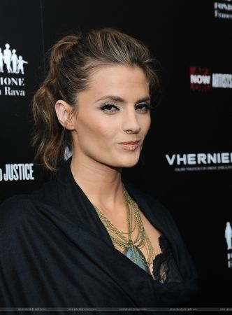 """#StanaKatic at the Artists For Peace And Justice: """"A Ring to Educate a Child in Haiti"""" Launch (2011)"""