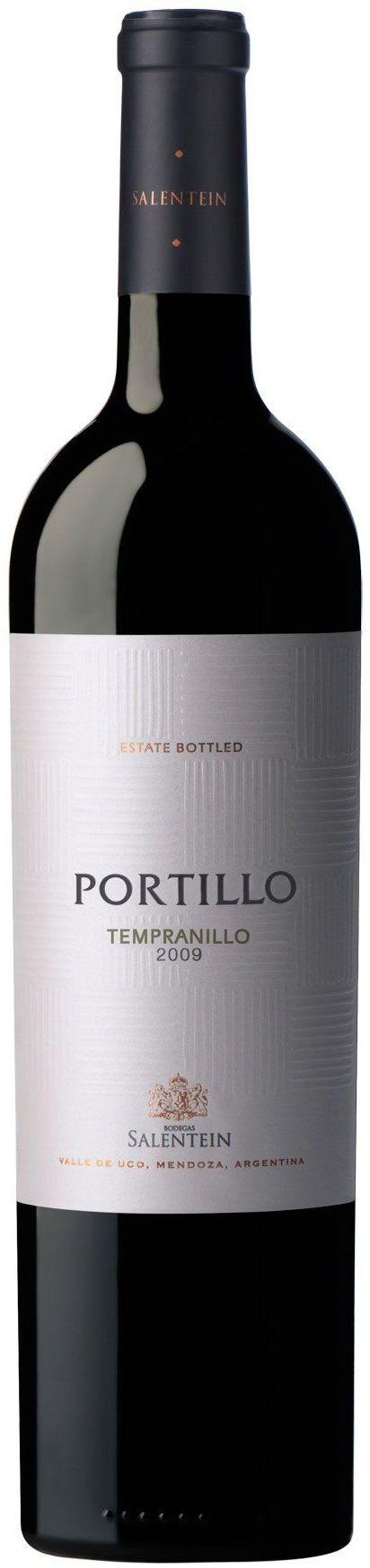 """Portillo"" Tempranillo 2013 - Bodega Salentein, Tunuyán, Mendoza---------------------------------Terroir: Los Arboles (Tunuyán)"