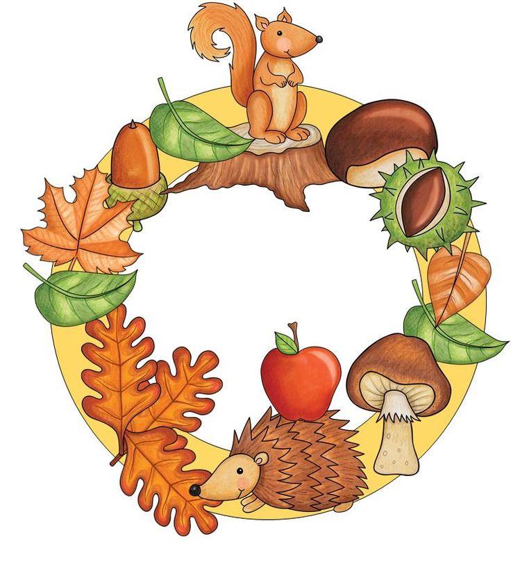 Készítsetek őszi koszorút!
