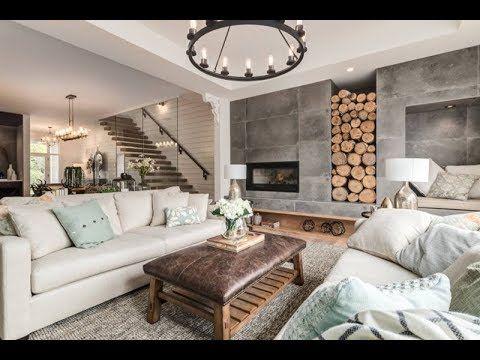 Farmhouse Style ldeas For Modern Living Room Design