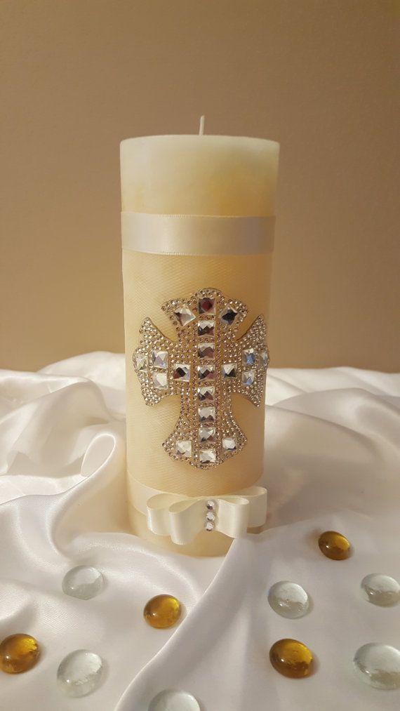 Baptism Candle, Wedding Candle, Christening Candle