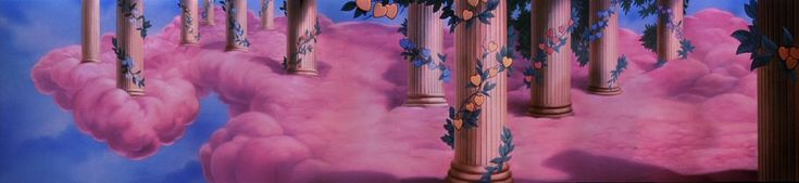 """""""FUN AND FANCY FREE"""" Background Artwork (1947)"""