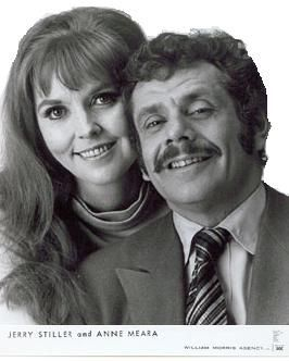 Jerry Stiller & Anne Meara . . looking so very young here. Married 1954–2015; her death