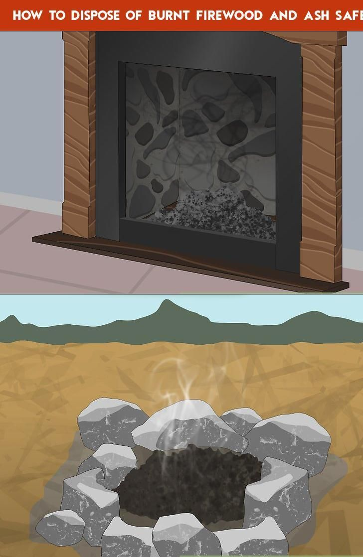 How To Dispose Of Burnt Firewood And Ash Safely Outdoor Fire Firewood Metal Containers