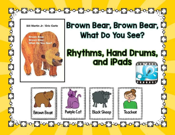 Music is Elementary: Brown Bear, Brown Bear: Rhythms and Drums and iPads