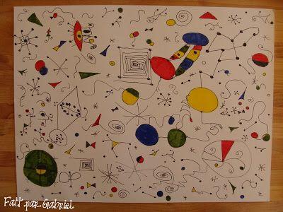 Au fil des jours: Inspiration:  Joan Miró