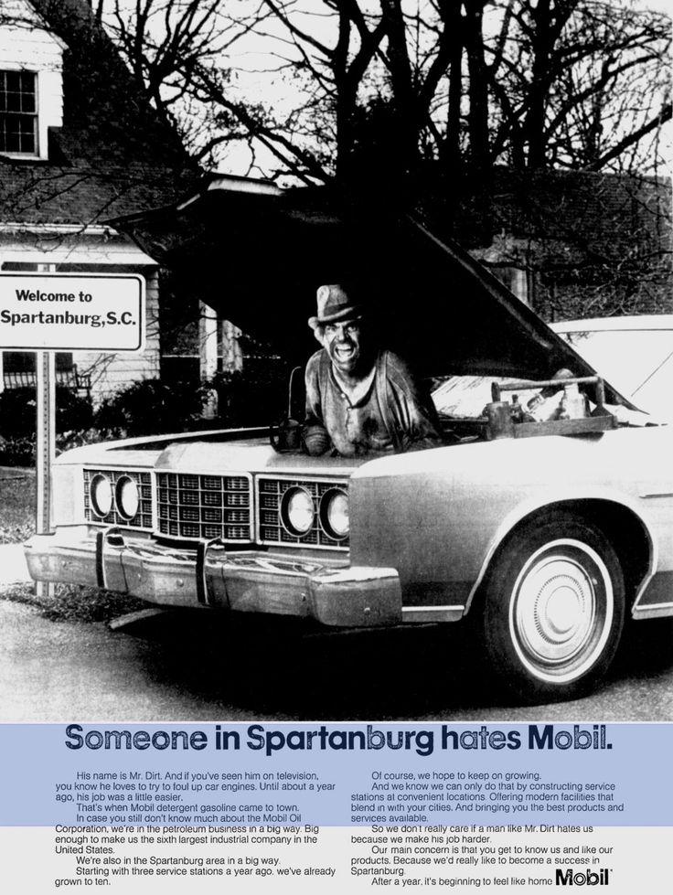 Mr. Dirt, Mobil Oil commercial