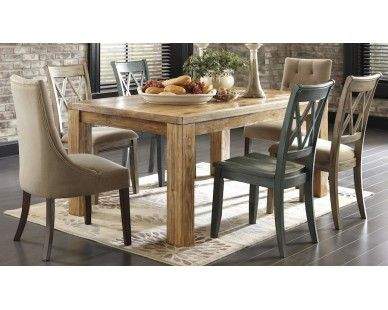 7 Piece Dining Set W/ Assorted Chairs   Sam Levitz Furniture