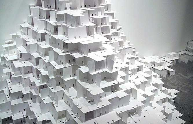 """Modern Artist Jean Shin transforms everyday objects into """"visually alluring conceptual explorations"""". She has won many awards and has exhibited her art works throughout the United States in various exhibitions"""