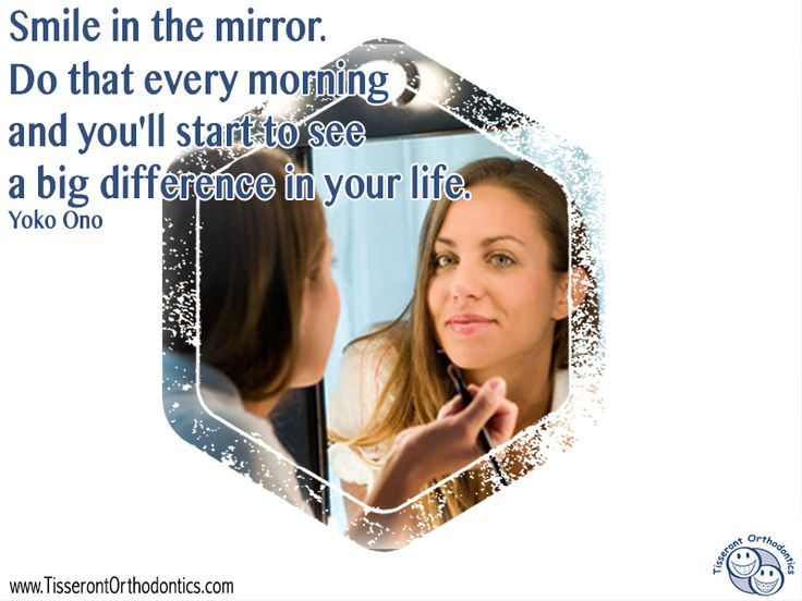 "Smile in the mirror. Do that every morning and you'll start to see a big difference in your life."" – Yoko Ono"