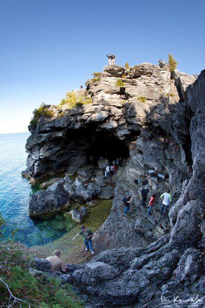 The Grotto, Bruce Peninsula, Ontario