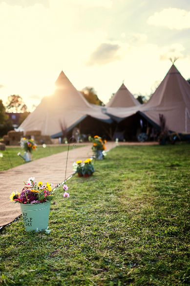 Wedding styling, tipi tent reception - Devon www.worldinspiredtents.co.uk