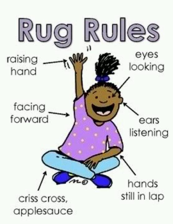 Rug Rules Use Boardmaker Teacher Inc Pinterest