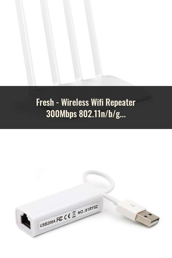 Wireless Wifi Repeater 300Mbps 802 11n/b/g Network Wifi Extender