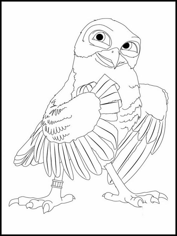 Zambezia 4 Printable Coloring Pages For Kids Coloring Pages For Kids Online Coloring Pages Coloring Pages