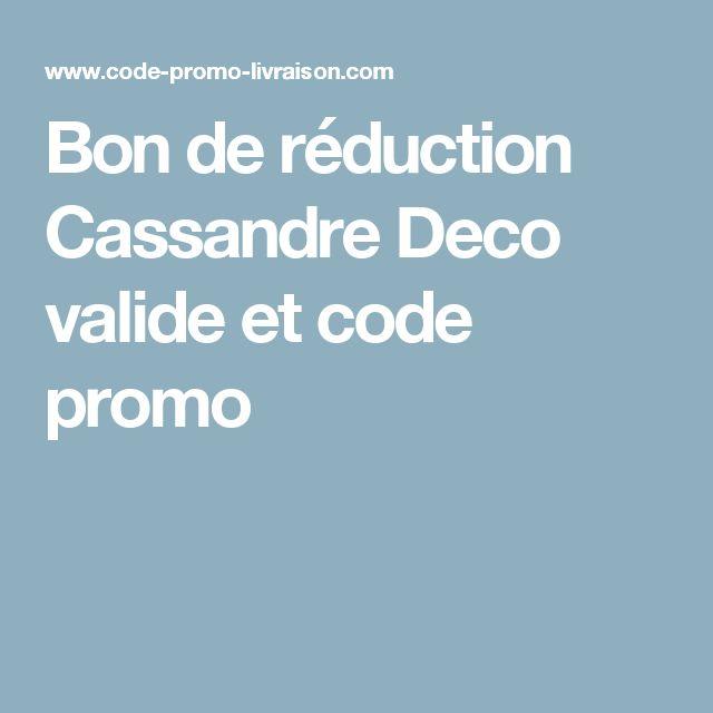 Bon de réduction Cassandre Deco valide et code promo
