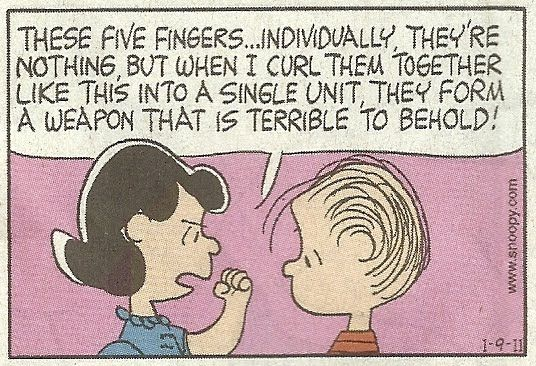 peanuts cartoon lucy football learned lesson pretty face - Google Search