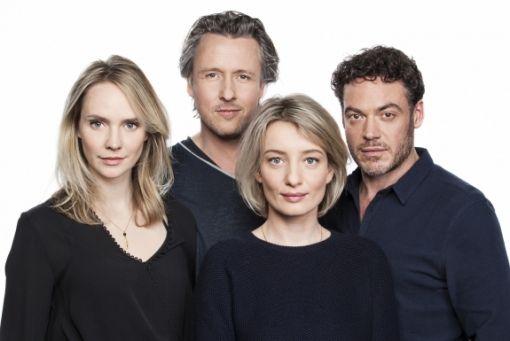 Fedja van Huêt en Karina Smulders in tweede seizoen 'Nieuwe Buren'