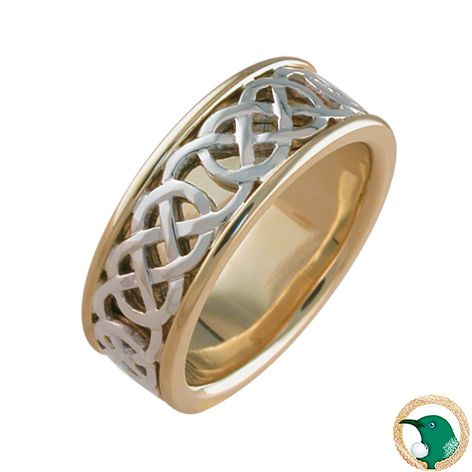 Love Celtic Ring Meaning: This Celtic knot represents all things close to the heart. Love, devotion, tenderness and affection.