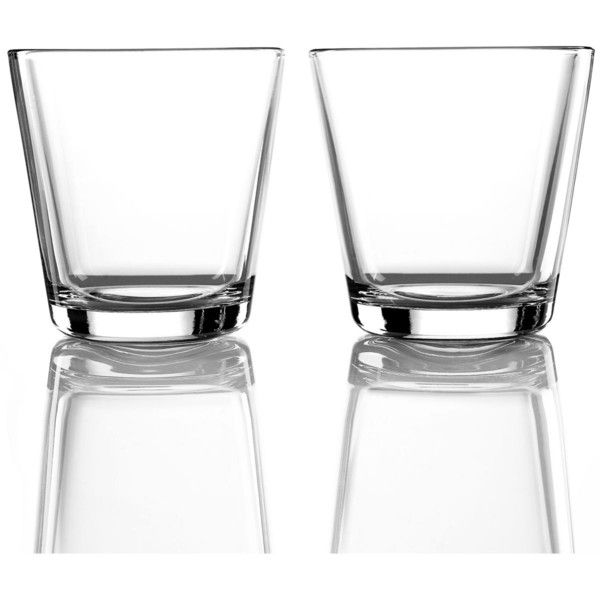 Iittala Drinkware, Set of 2 Small Kartio Tumblers ($22) ❤ liked on Polyvore featuring home, kitchen & dining, drinkware, clear, iittala glassware, iittala, twin pack, glass tumbler and glass drinkware