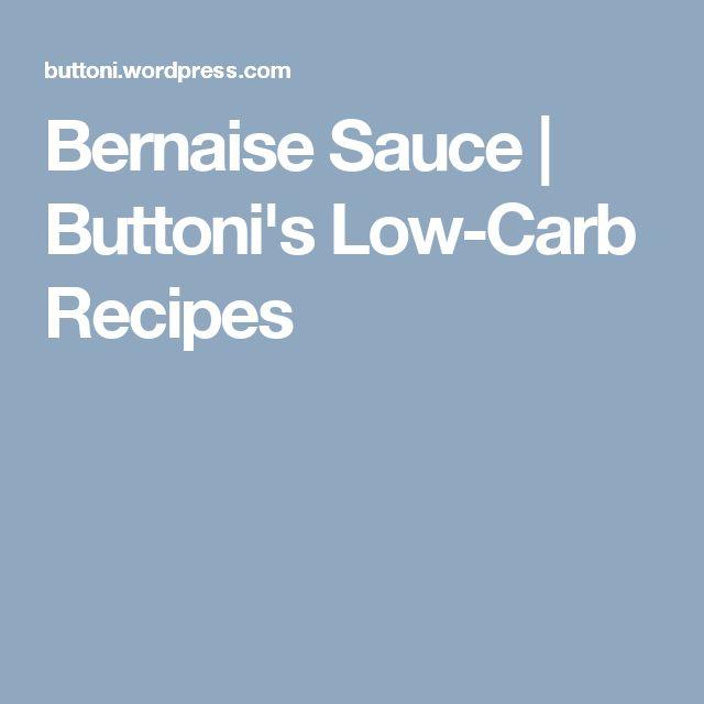 Low Fat Bernaise Sauce 37