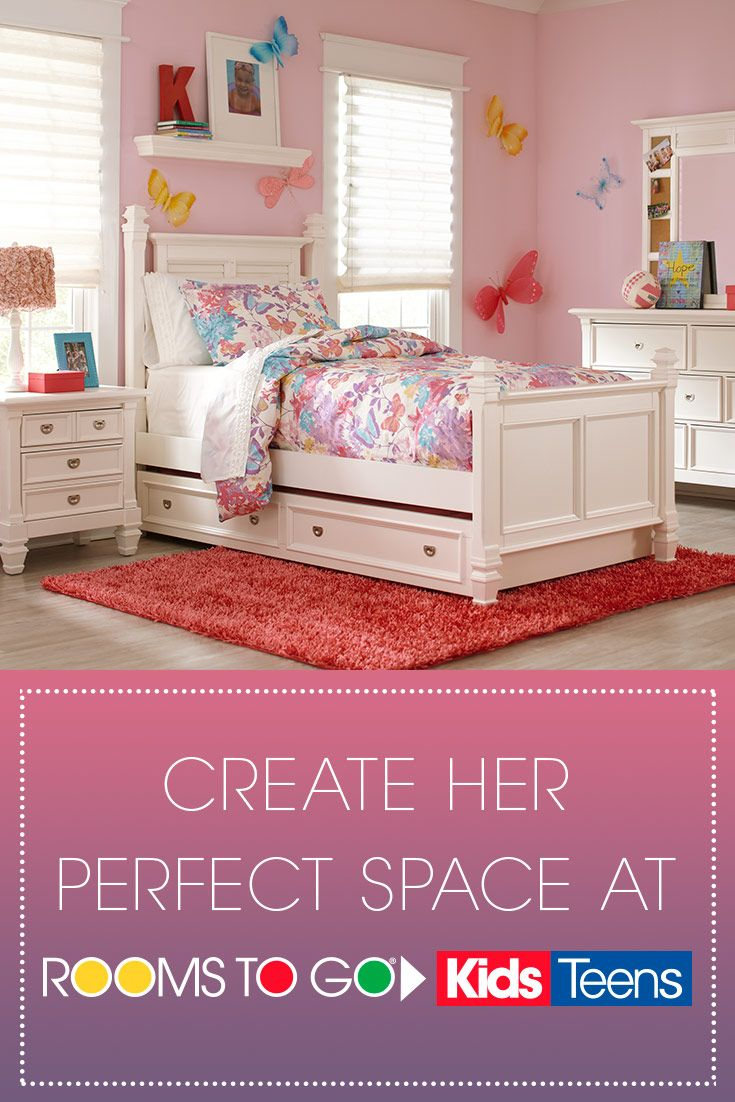 Your little girl is beautiful, so give her a space to match ...