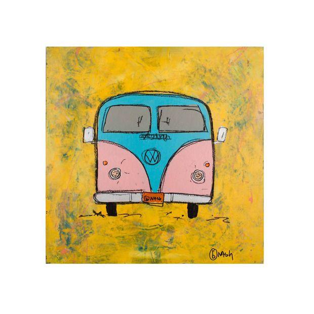 Cruisin' Time Machine on Canvas