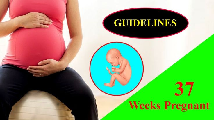 37 Weeks Pregnant – Delivery Time Table and Common Symptoms of Pregnancy...
