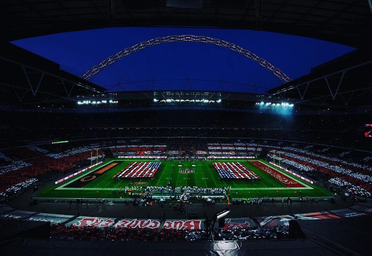 """1,038 Likes, 2 Comments - Wembley Stadium (@wembleystadium) on Instagram: """"Happy Thanksgiving to all our friends from across the pond 🇺🇸 . See you all soon 😉 . #nfl"""""""
