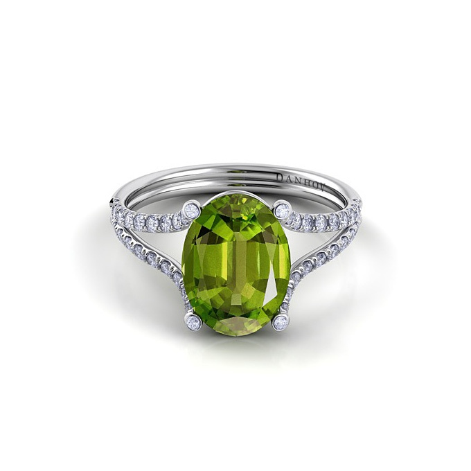 Superb Go green this holiday season and sport an elegant emerald tsavorite or green tourmaline ring on your finger