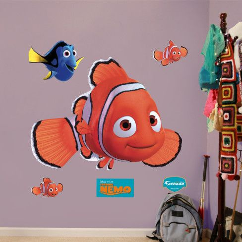 Finding Nemo Wall Decal - AllPosters.ca