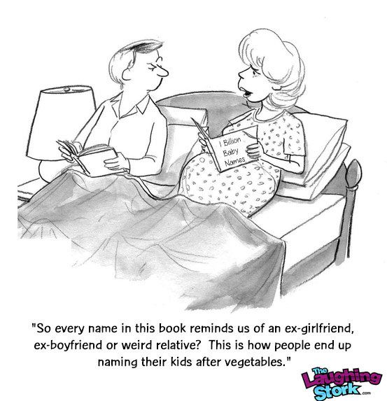 Pregnancy Cartoons - The Laughing Stork