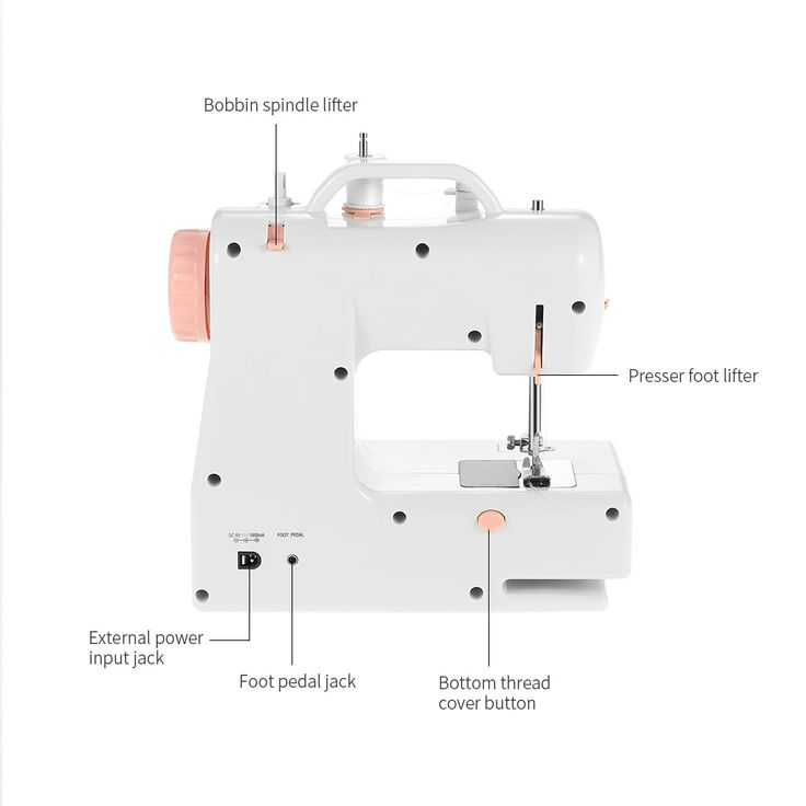 Decdeal Multifunctional Electric Household Sewing Machine 2 Sales Online eu - Tomtop.com
