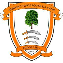 1964, Ashford Town (Middlesex) F.C. (England) #AshfordTownFC #England #UnitedKingdom (L16589)