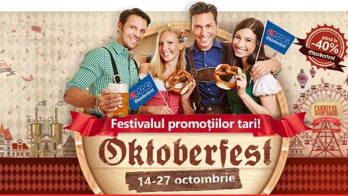 Oktoberfest - Festivalul promotiilor tari la eMAG   Airlines Travel