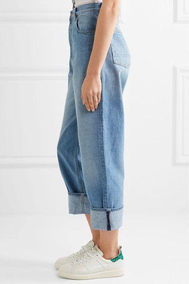Golden Goose Deluxe Brand - Kim High-rise Straight-leg Jeans - Light denim - 26