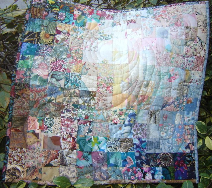 Watercolor quilting.  I would have many of these in my home!