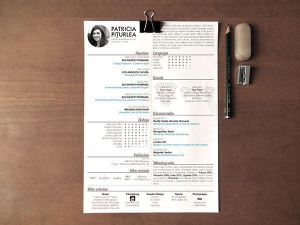 CV/Resume and Portfolio on Behance
