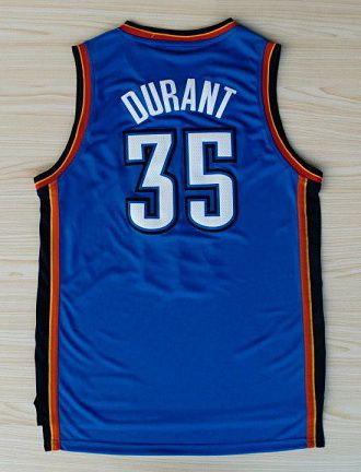 NBA Oklahoma City Thunder #Durant 35 basketball adidas game #jerseys