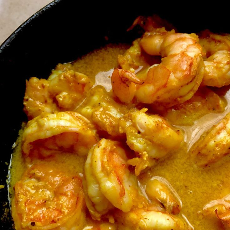 Easiest Ever Low Carb High Protein Shrimp with Coconut Milk - Two SleeversFacebookPinterest