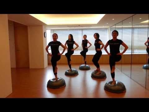 ModernPilates&Rolfing Bosu cardio pilates – YouTube