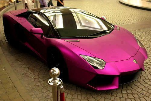 fancy car loving pink is much more than being feminineits a passion pinterest fancy cars cars and hot cars