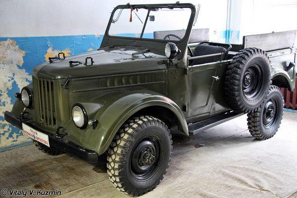 Военно-технический музей - Часть 1: Военная техника (Military Technical museum - Part 1: Military vehicles) | Vitaly V. Kuzmin Jeep GAZ-69