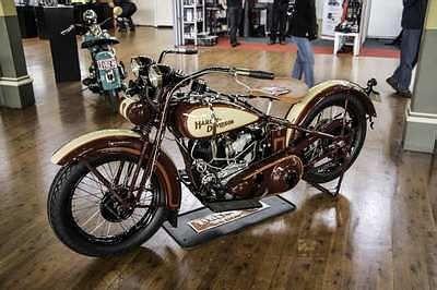 Vintage Harley Davidson Knucklehead For Sale