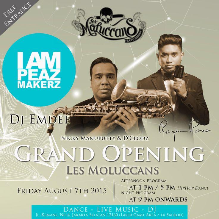 Grandopening LesMoluccans